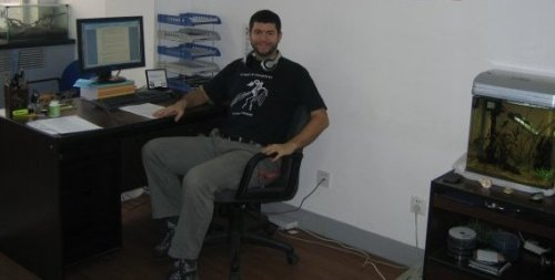 At my desk in the IVPP