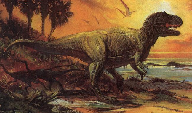 Charles Knight S Dinosaur Paintings