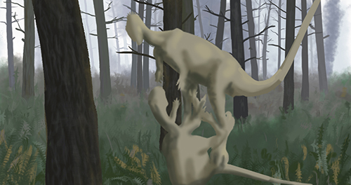 Othnielioaurus rutting sneak peak